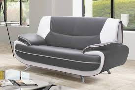 canape gris et blanc canape gris blanc luxe deco in canape 3 2 places gris et blanc