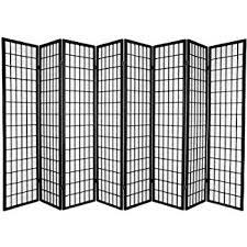 Room Divider Screens Amazon - amazon com 8 panel room divider screen black kitchen u0026 dining