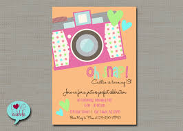invitations for 13th birthday party tween teen birthday party invitation photo scavenger hunt