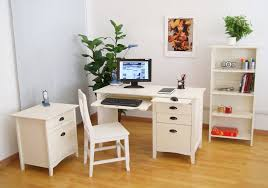 white computer desks for home small white computer desk and chair in modern home office home white