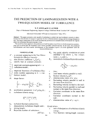 the prediction of laminarization with a two equation model of