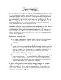writing policy papers policy memo 2 instructions