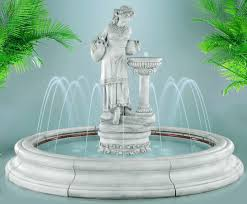 outdoor water fountains outdoor water features
