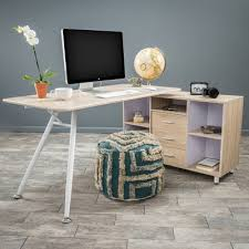 home loft concepts delta l shape computer desk u0026 reviews wayfair