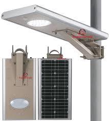 Solar Power Street Light by 15 Watt Led Solar Street Light Over 1 500 Lumen All In One