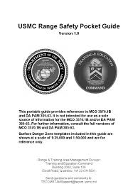 usmc range safety pocket guide ammunition united states marine