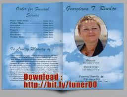 funeral program maker funeral program template microsoft word in australia simple see