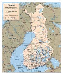 Travel Map Of Europe maps of finland detailed map of finland in english travel map