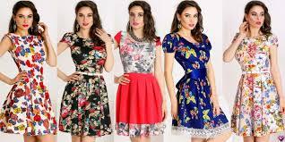 rochii de vara rochii de vara cu imprimeu floral modele sic si deosebite