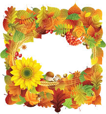 autumn style png photo frame clip art mix pinterest