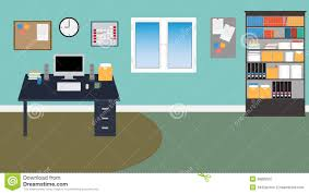 vector office room in eps 10 stock vector image 38899537