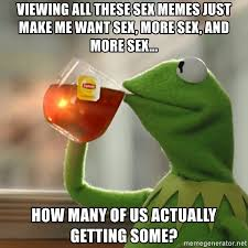 Sex Memes Images - viewing all these sex memes just make me want sex more sex and
