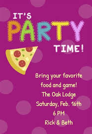 its party time free printable sleepover party invitation