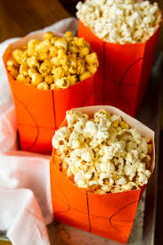 popcorn favor bags easy basketball treat bags for popcorn more