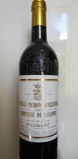 learn about chateau pichon baron 1993 château pichon longueville comtesse de lalande