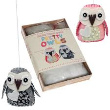 make your own feltcraft pretty owls craft kit dotcomgiftshop