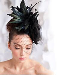 feather hair accessories winter wedding hair accessories lightinthebox
