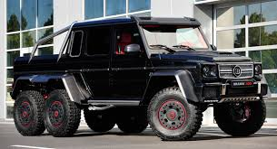 mercedes amg 6x6 cost brabus makes the mercedes g 63 amg 6x6 even crazier by boosting it