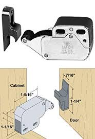touch latch cabinet hardware 199105 hardware locks and latches touch latches brown mini touch