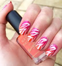 ombré zebra nail art tutorial