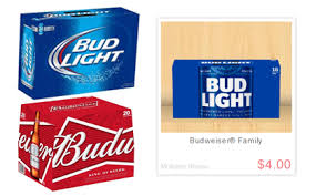 free budweiser or bud light beer 18pk 13 64 value at walmart