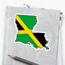 Jamaican Flag Leggings Jamaica Flag Louisiana Outline