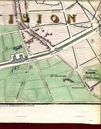 Camden County Maps Map Of Dublin 1798