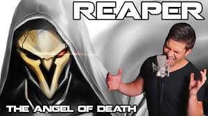 reaper background overwatch halloween reaper the angel of death overwatch song average jonas youtube