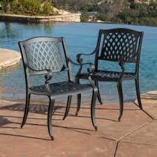 Aluminum Patio Dining Set Aluminum Patio Dining Chairs For Less Overstock Com