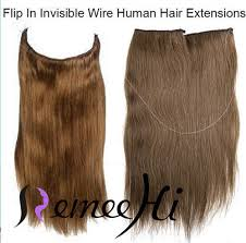 invisible hair 120g thick human remy secret invisible wire secret halo hair