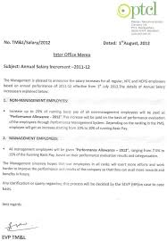 annual salary increase letter template to employee letter idea 2018