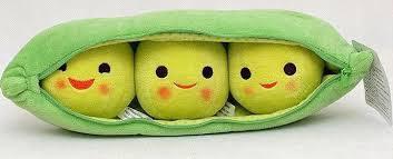 3 peas in a pod online cheap 50cm big size peas stuffed plush doll