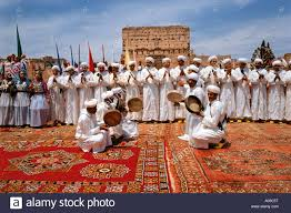 traditional celebration with musicians marrakesh morocco