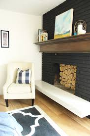 how to update your fireplace u2013 5 easy ideas brick fireplace