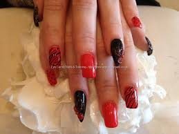 red acrylic nails with bows httpwwwbeautysupplylosangelescom eye