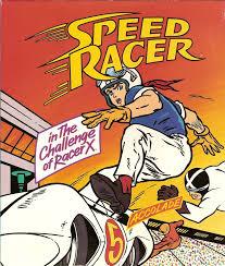 speed racer challenge racer 1993 dos box cover art