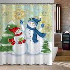 20 christmas shower curtains u2013 christmas spirit to make you smile