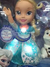 dolls that light up newest my frist frozen elsa doll light up sing snow glow elsa doll