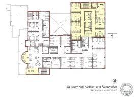 Second Floor Addition Floor Plans Saint Mary Hall Project Details Saint Lawrence Seminarysaint