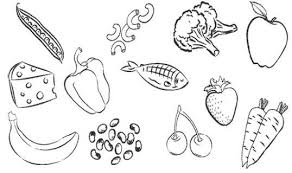 draw healthy food coloring pages 30 coloring books