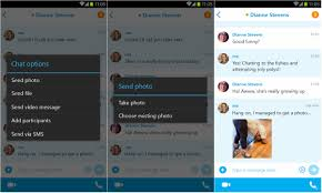 skype for android version 5 2 update brings photo sharing with