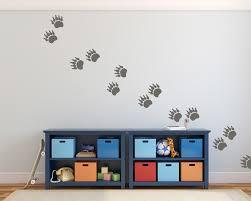 stickerset bärentatzen u2013 wanddeko für das kinderzimmer