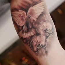 35 realistic dove tattoos ideas