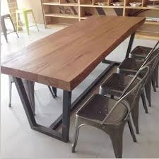 Coffee Bar Table Village Coffee Bar Cafe Tables And Chairs Solid Wood Furniture