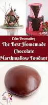 homemade chocolate marshmallow fondant recipe veena azmanov