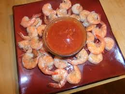 dirty and delicious roasted shrimp cocktail