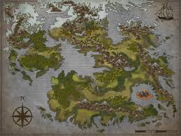 Blank Fantasy Map Generator by Blank Fantasy World Map Timekeeperwatches