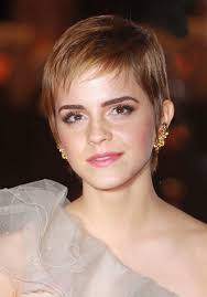 haircut for wispy hair emma watson soft pixie hair cut with wispy bangs women hairstyles