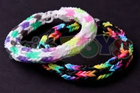 make loom band hair pins how to make a checkered hexafish rainbow loom bracelet soccer