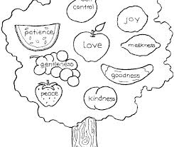coloring pages on kindness fruit of the spirit coloring page fruits of the spirit coloring